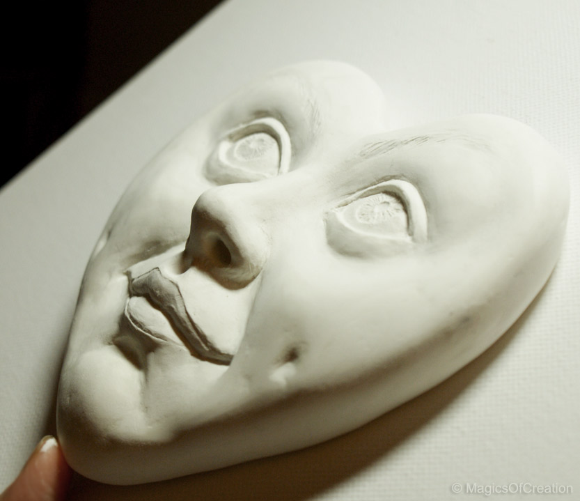 Air Dry Clay Sculpture Work In Progress Step 5